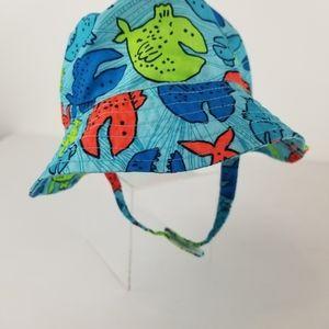 Jumping Beans Kids Blue Bucket Hat